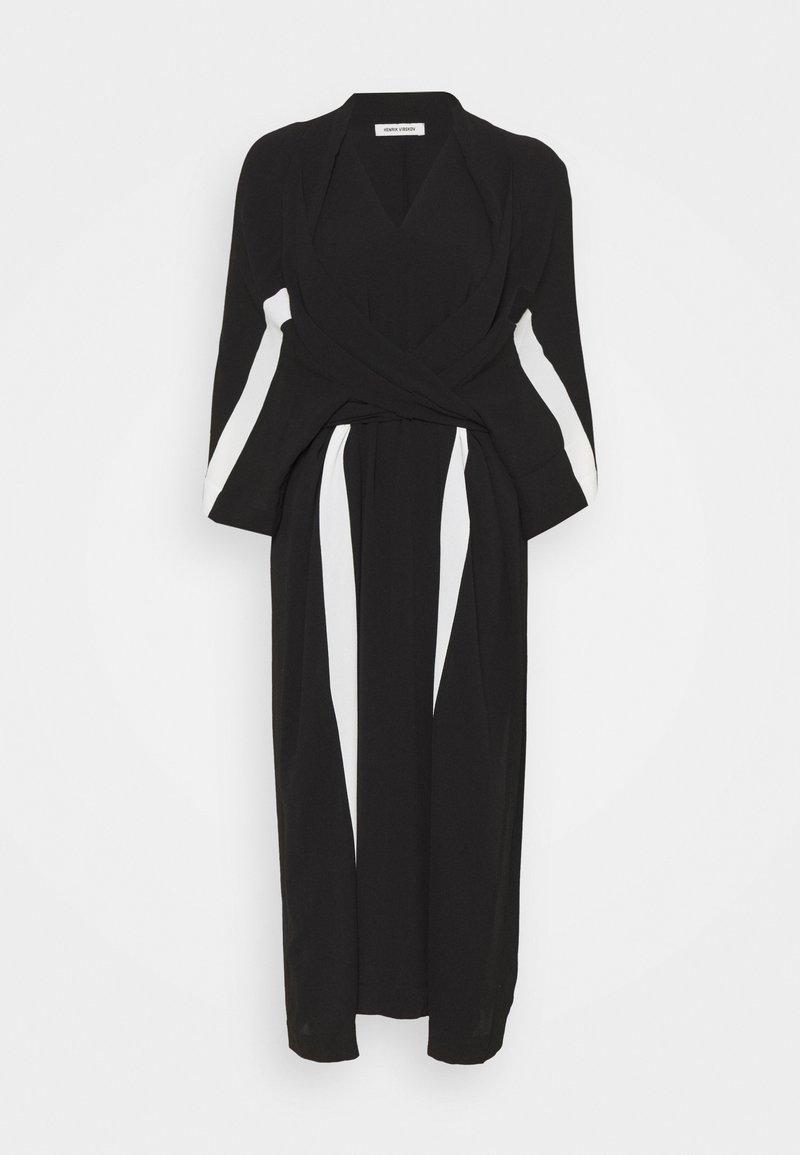 Henrik Vibskov - TIME DRESS - Day dress - black/white