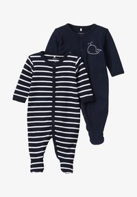 Name it - NBMNIGHTSUIT BABY 2 PACK - Pyjamas - dark sapphire - 5
