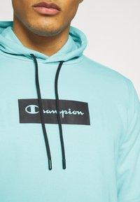 Champion - HOODED - Sweatshirt - turquoise - 3