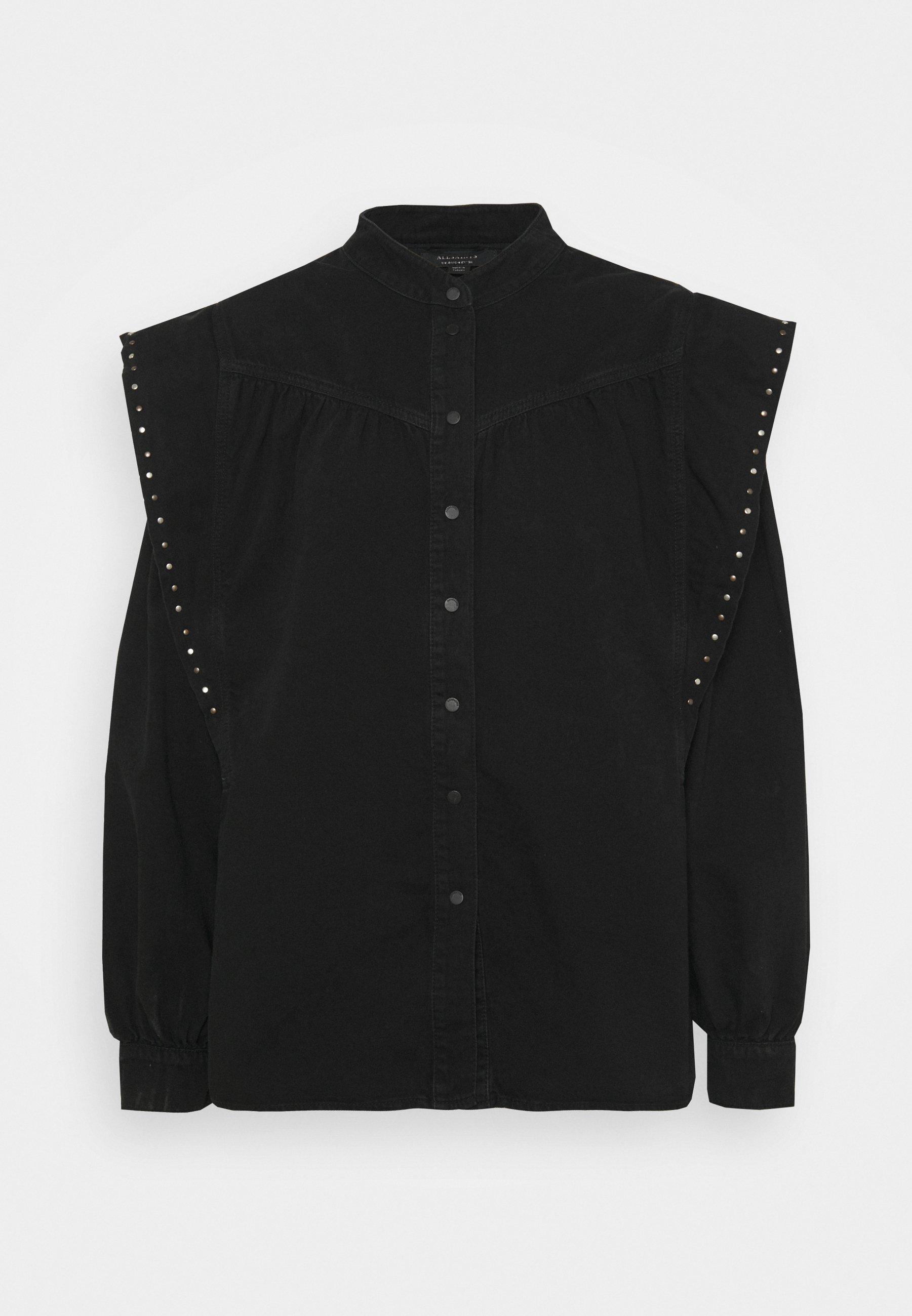 Women MAVA STUDDED SHIRT - Button-down blouse