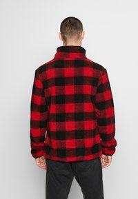 Urban Classics - PLAID HIKING JACKET - Tunn jacka - red/black - 2