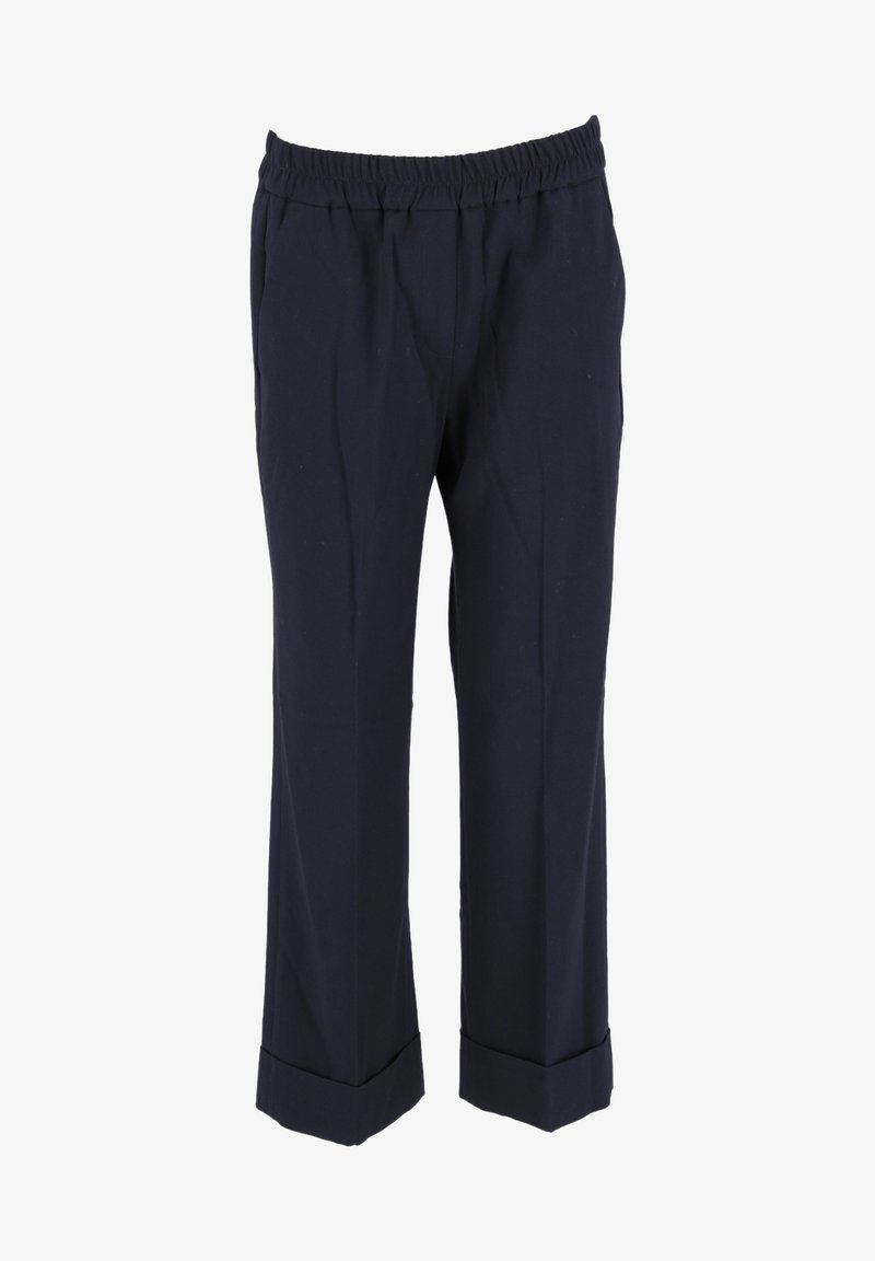 Opus - MAIKITO - Trousers - dunkel blau