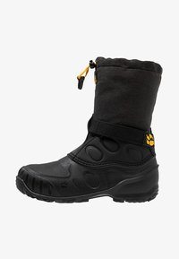 Jack Wolfskin - ICELAND HIGH - Winter boots - black/burly yellow - 1