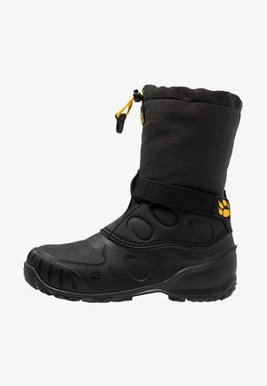 ICELAND HIGH - Snowboots  - black/burly yellow