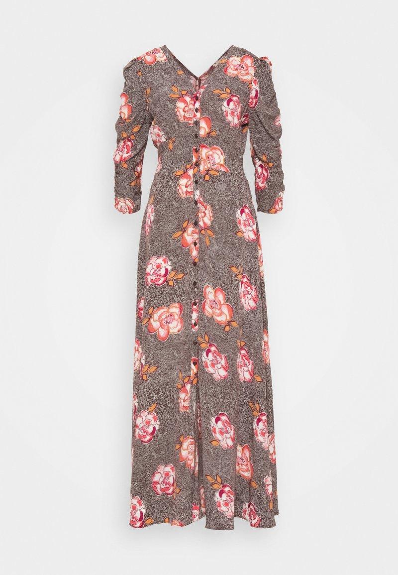 byTiMo - SPRING ROUCH DRESS - Maksimekko - light pink
