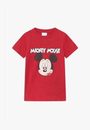 DISNEY MICKEY MOUSE SHORT SLEEVE LICENSE - T-shirt con stampa - red