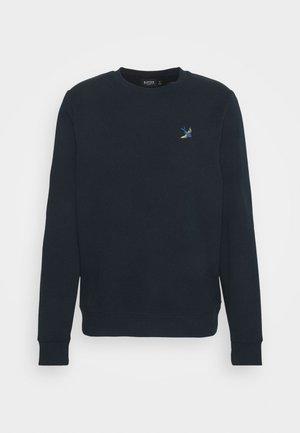 SWALL EMBROIDERED CREW - Sweatshirt - navy