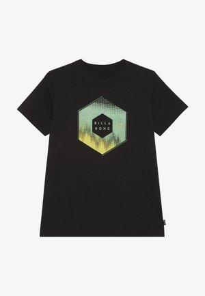 CESS TEE BOY - Print T-shirt - black