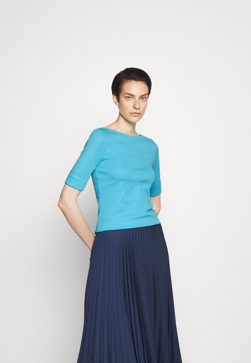 Lauren Ralph Lauren - JUDY - T-shirt basic - capri water