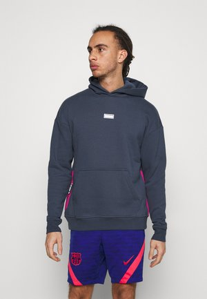 FC HOODIE - Jersey con capucha - thunder blue/fireberry/clear