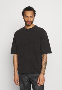 YOURTURN - UNISEX - T-shirt - bas - black - 0