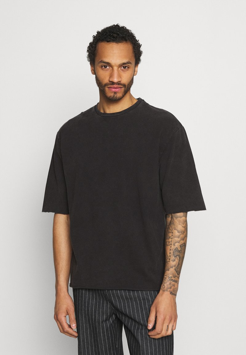 YOURTURN - UNISEX - T-shirt - bas - black