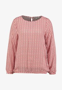 comma casual identity - BLOUSE LONGSLEEVE - Blouse - red - 3