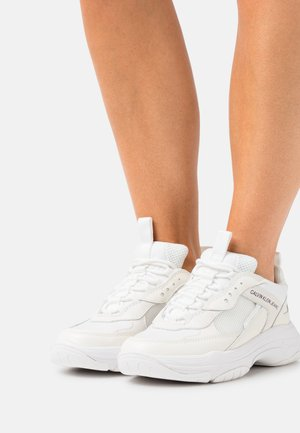 CHUNKY SOLE LACEUP - Trainers - bright white