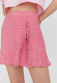 PULL&BEAR - Áčková sukně - rose - 4