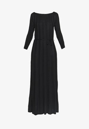 YASCHELSEA 3/4 ANKLE DRESS  - Maxi dress - black