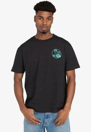 UNIVERSITY - Print T-shirt - black