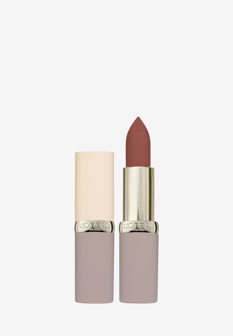 L'Oréal Paris - COLOR RICHE ULTRA MATTE FREE THE NUDES - Lipstick - 04 no cage