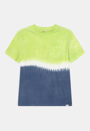 BOY TIE DYE  - T-shirt con stampa - yellow
