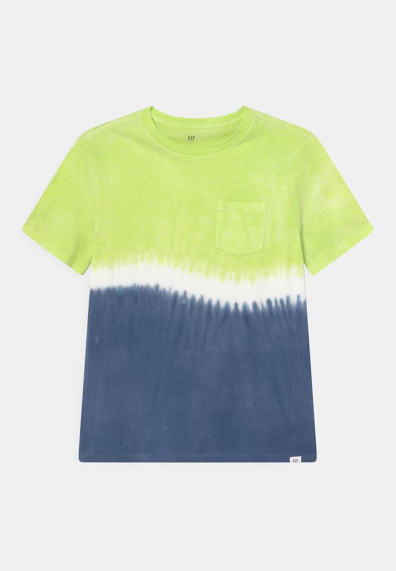 GAP - BOY TIE DYE  - T-shirt con stampa - yellow