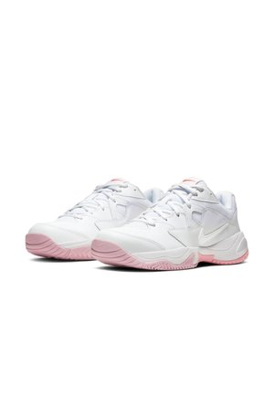 COURT LITE 2 - Tennissko til multicourt - white/white-laser crimson-sunset pulse