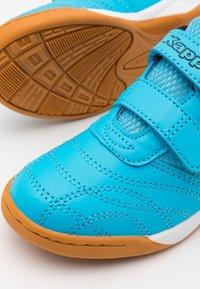 Kappa - KICKOFF  - Sportovní boty - blue/orange - 5