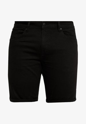 Denim shorts - clean black