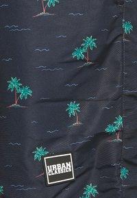 Urban Classics - PATTERNSWIM - Plavky - dark blue - 2