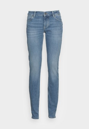 TROUSER MID WAIST REGULAR LENGTH - Jeans Skinny Fit - play with blue wash