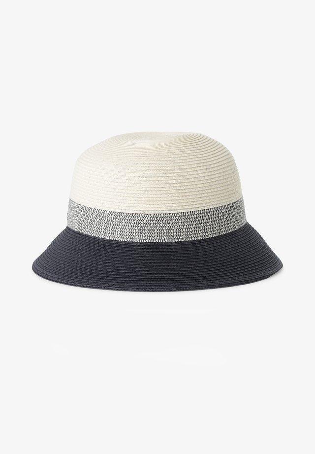 Hat - marine ecru