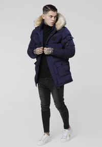 SIKSILK - PUFF - Cappotto invernale - navy - 1