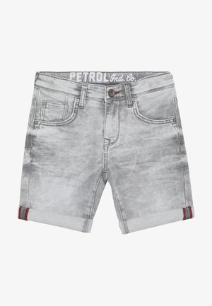 Denim shorts - dusty silver
