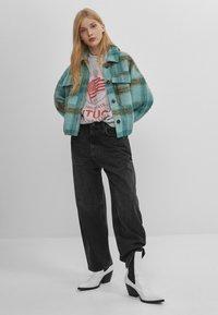 Bershka - Summer jacket - turquoise - 1