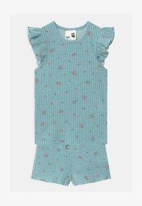 Cotton On - EMMA FLUTTER SHORT SLEEVE - Pyžamová sada - ether - 0