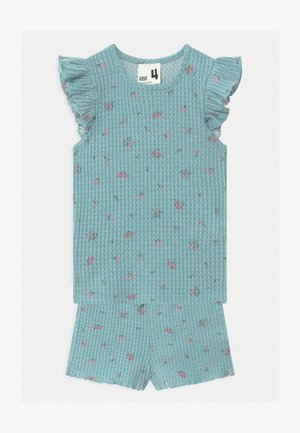 EMMA FLUTTER SHORT SLEEVE - Pyjama set - ether