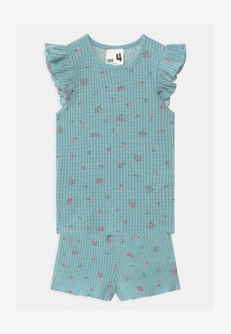 Cotton On - EMMA FLUTTER SHORT SLEEVE - Pyžamová sada - ether