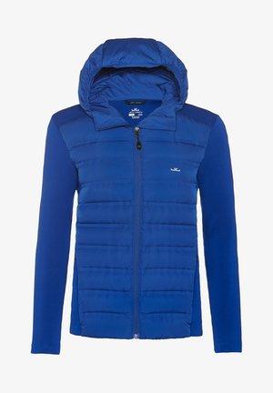 ENNO HYBRID - Down jacket - blue
