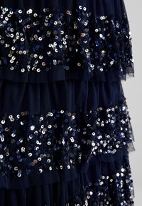 Maya Deluxe - ALL OVER EMBELLISHED TIERED BARDOT MIDAXI DRESS - Occasion wear - navy - 7