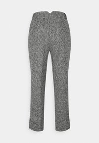 Carin Wester - TROUSERS LOWE  - Bukse - black/white - 7