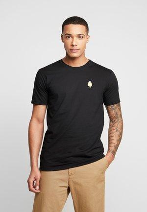 ZITRONE - T-shirt z nadrukiem - black