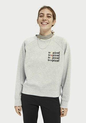 Sweatshirt - grey melange
