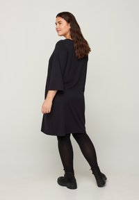 Zizzi - Jersey dress - black - 2