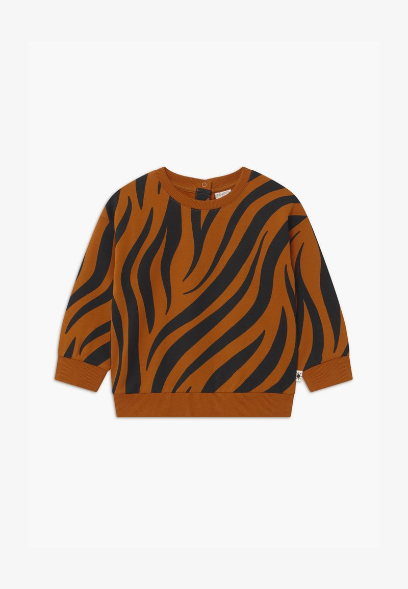 Lindex - ZEBRA UNISEX - Sweater - brown