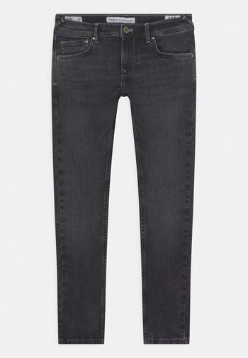 FINLY - Jeans Skinny Fit - black denim