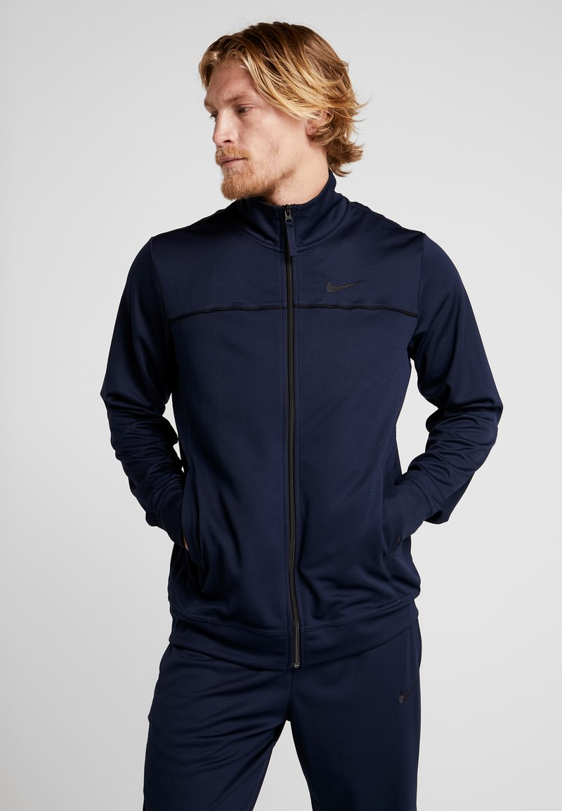 Nike Performance - M NK RIVALRY TRACKSUIT - Dres - obsidian/black