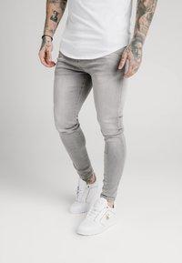 SIKSILK - SKINNY  - Jeans Skinny Fit - washed grey - 0