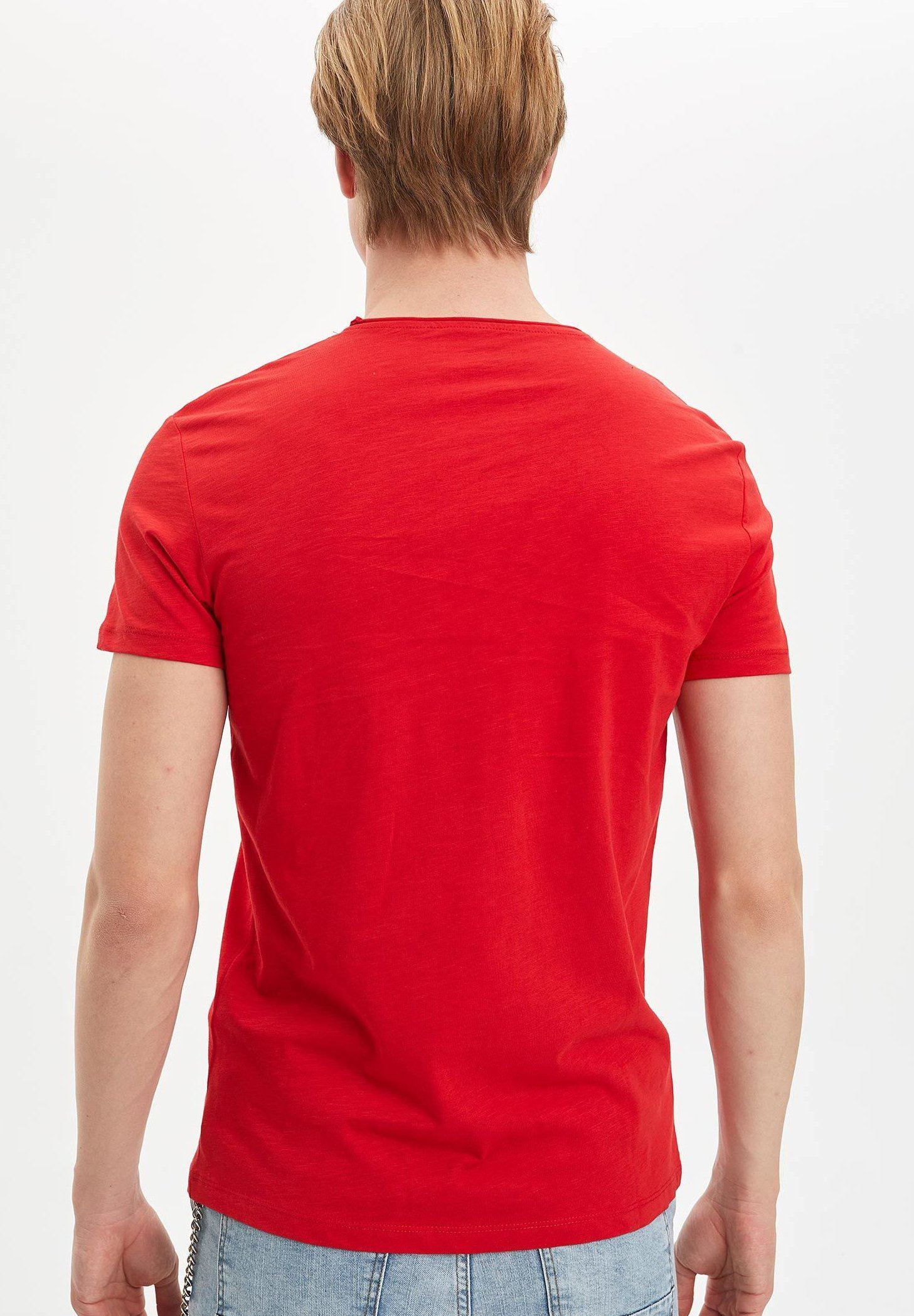 DeFacto Basic T-shirt - red Wvreo