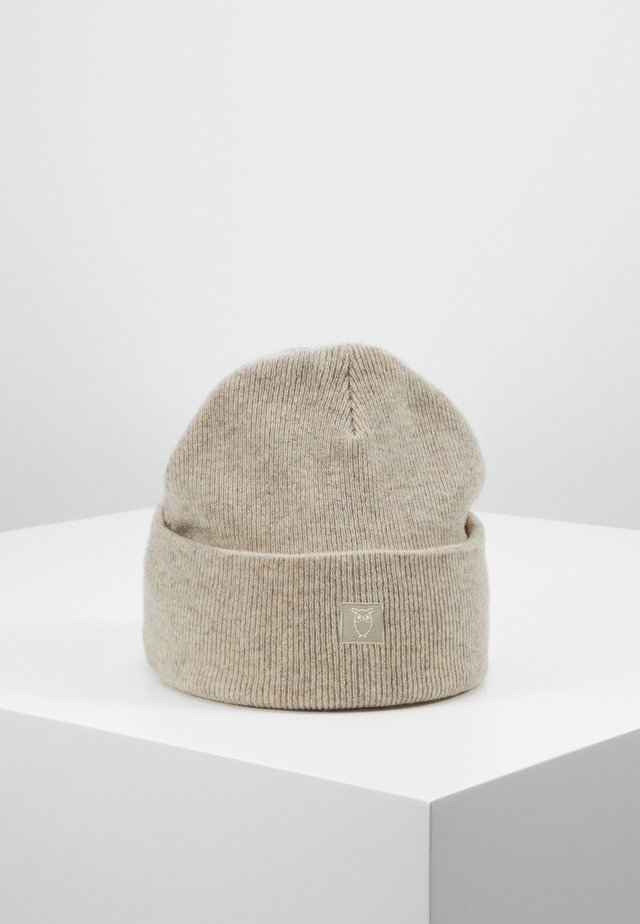 LEAF BEANIE UNISEX - Muts - off-white