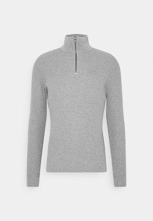 COSY TROYER - Jumper - light soft grey melange
