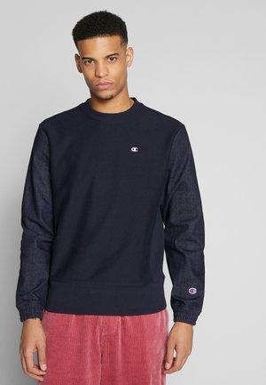 DENIM CREWNECK  - Sweater - dark blue